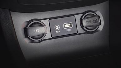 USB- och AUX-ingång