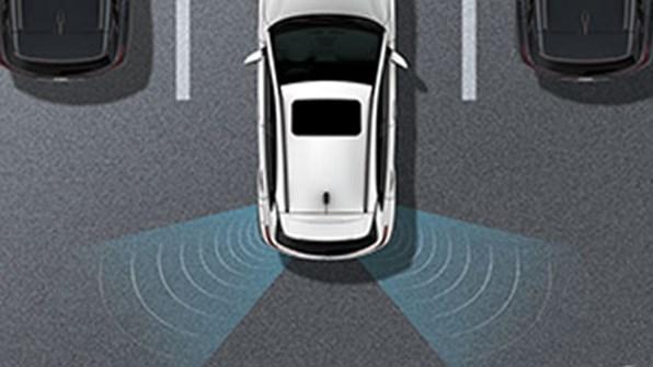 Backvarning för korsande trafik (RCTA)