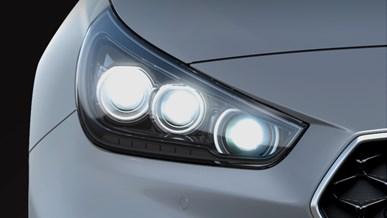 Avancerade LED-strålkastare