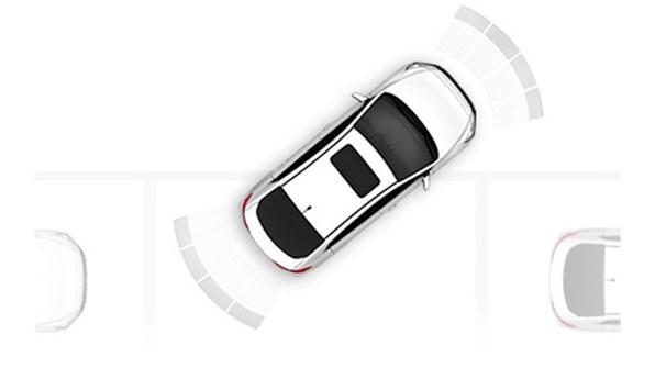 Parkeringsassistans fram och bak
