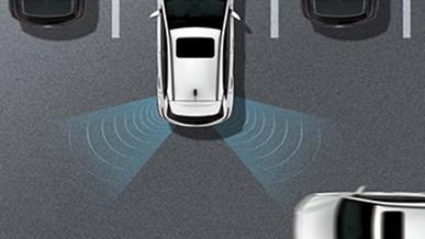 Backvarning för korsande trafik (RCCW)