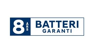 8 års batterigaranti