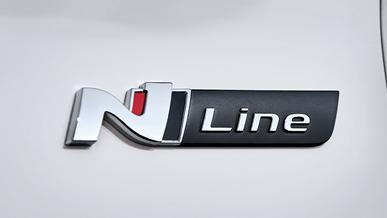 N Line-badge