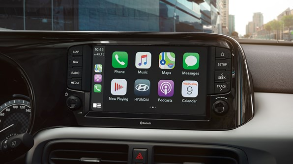 "Ny 8"" touch skärm m. Apple CarPlay"