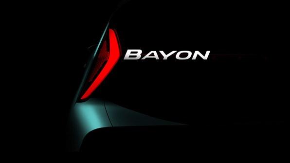 NYHET!  BAYON - en helt ny SUV