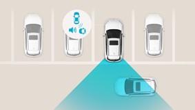 Varning för korsande trafik vid backning (RCCW)