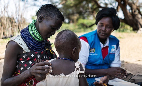 1 i10 provkörning = 1 timme hjälparbete för barn i Kenya