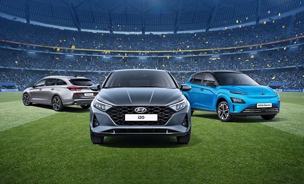 Ge dig in i matchen med en ny Hyundai